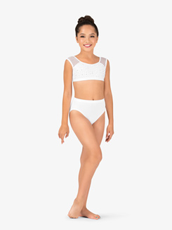 Girls Performance MicroTech Jazz Cut Briefs