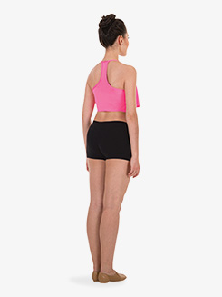 Womens Performance Overlay Camisole Bra Top