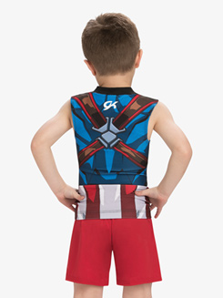 Boys/Mens Marvel Red Avengers Shorts