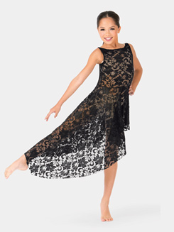 Child Emballe Lace High-Low Overdress