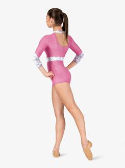 Womens Performance Go Go Ranger Printed Shorty Unitard