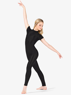 Womens Performance Crisscross Short Sleeve Unitard