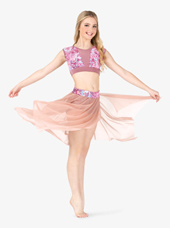 Womens Performance Aria Mesh Skirt