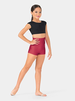 Child High Waist Dance Short