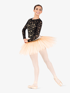 Womens Short 4-Layer Ballet Tutu Skirt