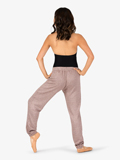 Womens Cuffed Warm Up Pants