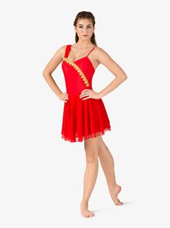 Womens Diana & Actaeon Costume Dress
