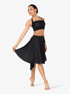 Girls Lyrical Flow Asymmetrical Skirt