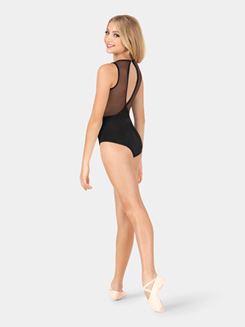 Child Tiler Peck Power Mesh Tank Leotard