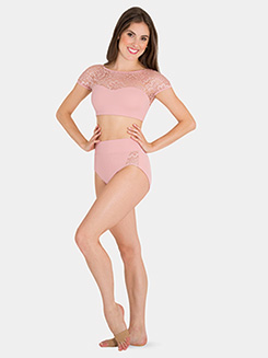 Girls Tiler Peck High-Waist Dance Briefs