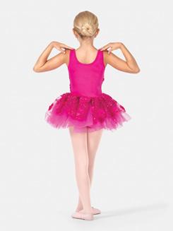 Girls Tank 3-D Floral Tutu Costume Dress