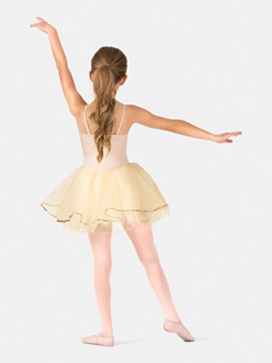 Girls Camisole Embroidered Tutu Costume Dress