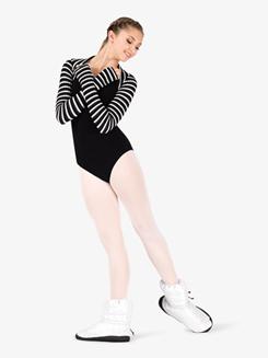 Womens Glitter Dance Warm-Up Booties