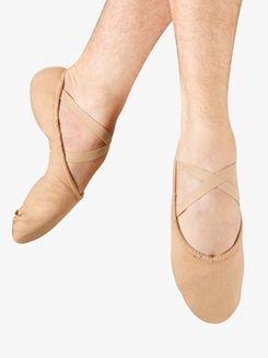 Mens Pump Canvas Split Sole Ballet Shoes