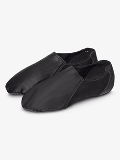 Girls Spark Leather Jazz Shoes