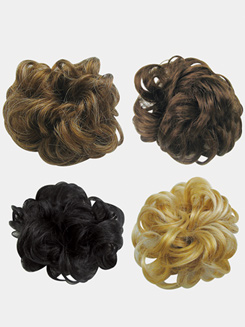 Faux Hair Scrunchie