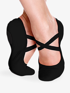 Womens Brit Leather Ballet Shoes