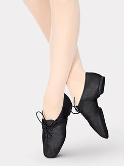 Adult Lace Up Jazz Shoe