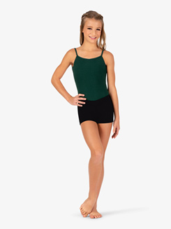 Girls Boy-Cut Low Rise Dance Short