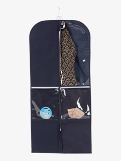 Breathable Performance Garment Bag with Zippered Compartments