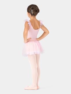 Child Flutter Sleeve Ballet Dress