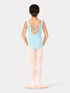 Child Crisscross Back Tank Leotard