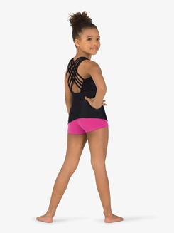 Girls Multi-Strap Back Tank Dance Top