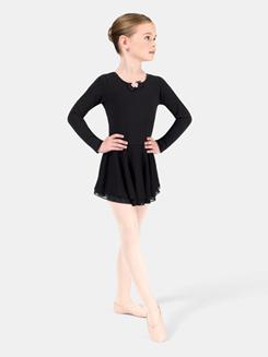 Child Long Sleeve Dance Dress