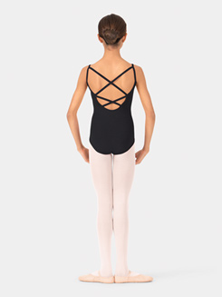 Child Camisole Crisscross Back Dance Leotard