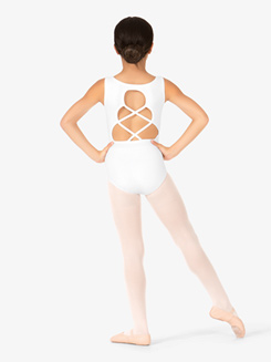 Adult Crisscross Back Tank Leotard