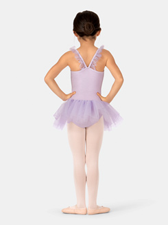 Child Ruffle Neckline Ballet Dress
