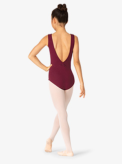 Womens V-Back Tank Leotard