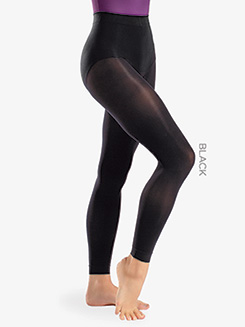 Womens Sheer Footless Dance Tights
