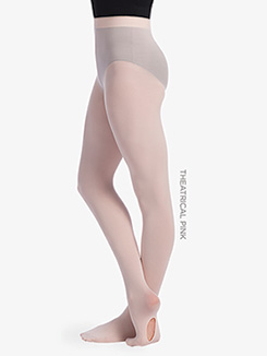 Girls Seamless Convertible Dance Tights