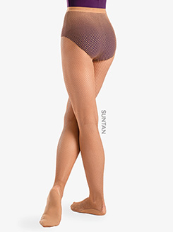 Womens Professional Sheer Fishnet Dance Tights