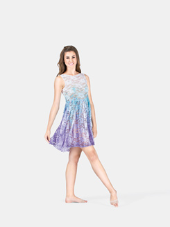 Adult Tank Lace Over Dress