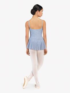 Womens Violetta Embossed Camisole Ballet Dress
