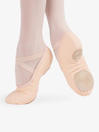 """Womens """"Tempo"""" Split Sole Ballet Shoes - Style No 03017CN"""