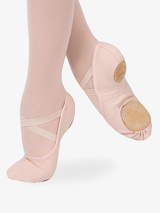 "Womens ""Dream Stretch"" Canvas Ballet Shoes - Style No 03020CN"