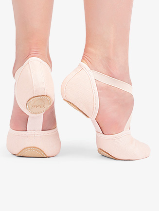 "Womens ""Dream Stretch Model 10"" Canvas Ballet Shoes - Style No 03022CN"