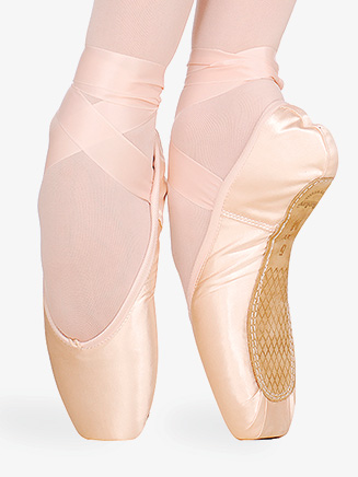 "Womens ""3007"" Satin Pointe Shoes - Style No 0509N"