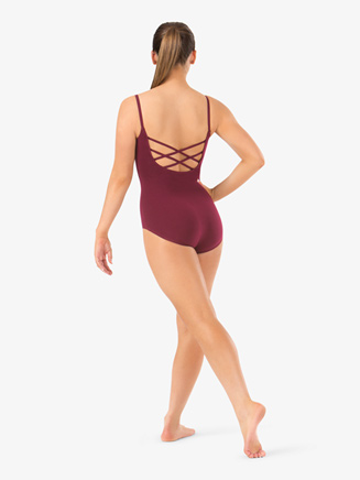 Adult Trestle Back Camisole Dance Leotard - Style No 1502