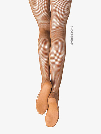 Child Professional Seamless Fishnet Tights - Style No 3000C