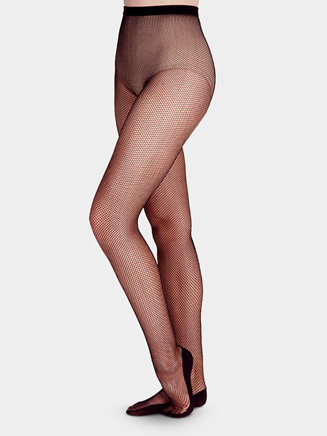 Adult Professional Back Seam Fishnet Tight - Style No 3400