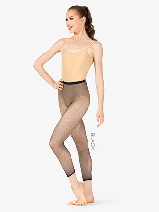 Womens Capri Fishnet Tights - Style No 3409W