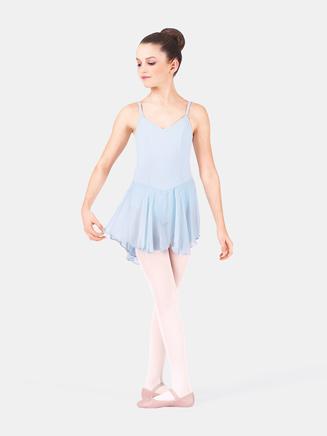 Child Trestle Back Dance Dress - Style No 7110C