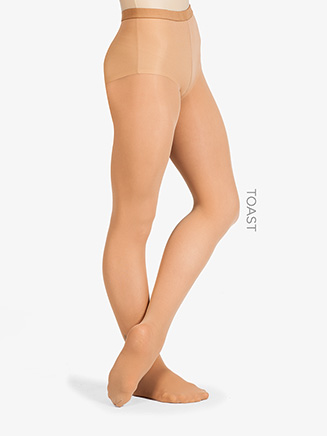 Adult Ultrasoft Microfiber Footed Tight - Style No 72