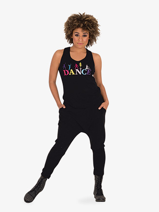 """Womens Bright """"Dance"""" Tank Top - Style No 7341"""