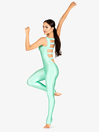 Adult Elastic Ladder Back Tank Unitard - Style No 88376
