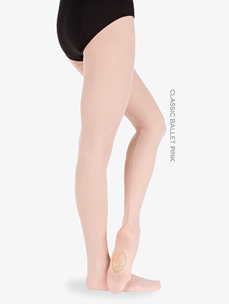 Adult Convertible Seamed Mesh Tight - Style No A46